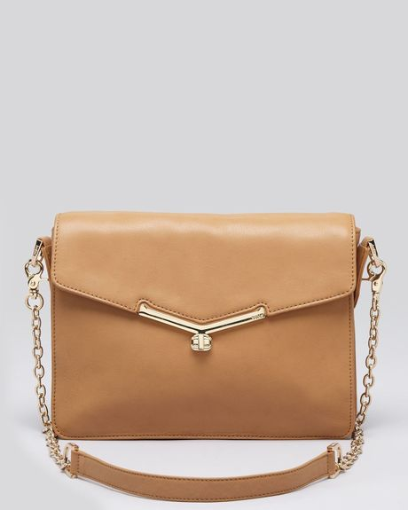 Botkier Shoulder Bag Valentina in Brown (almond) - Lyst
