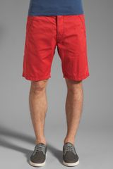 G-star Raw Western Bronson Chino Straight Short - Lyst