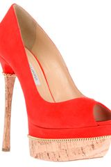 Gianmarco Lorenzi Platform Stiletto Pumps - Lyst