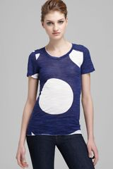 Marc By Marc Jacobs Tee Velma Dot - Lyst