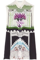 Mary Katrantzou Aria Printed Silk-georgette Blouse - Lyst
