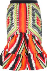 Peter Pilotto Short Sofia Skirt - Lyst
