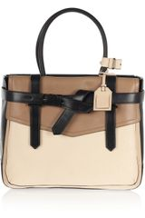 Reed Krakoff Boxer 1 Tritone Leather Tote - Lyst