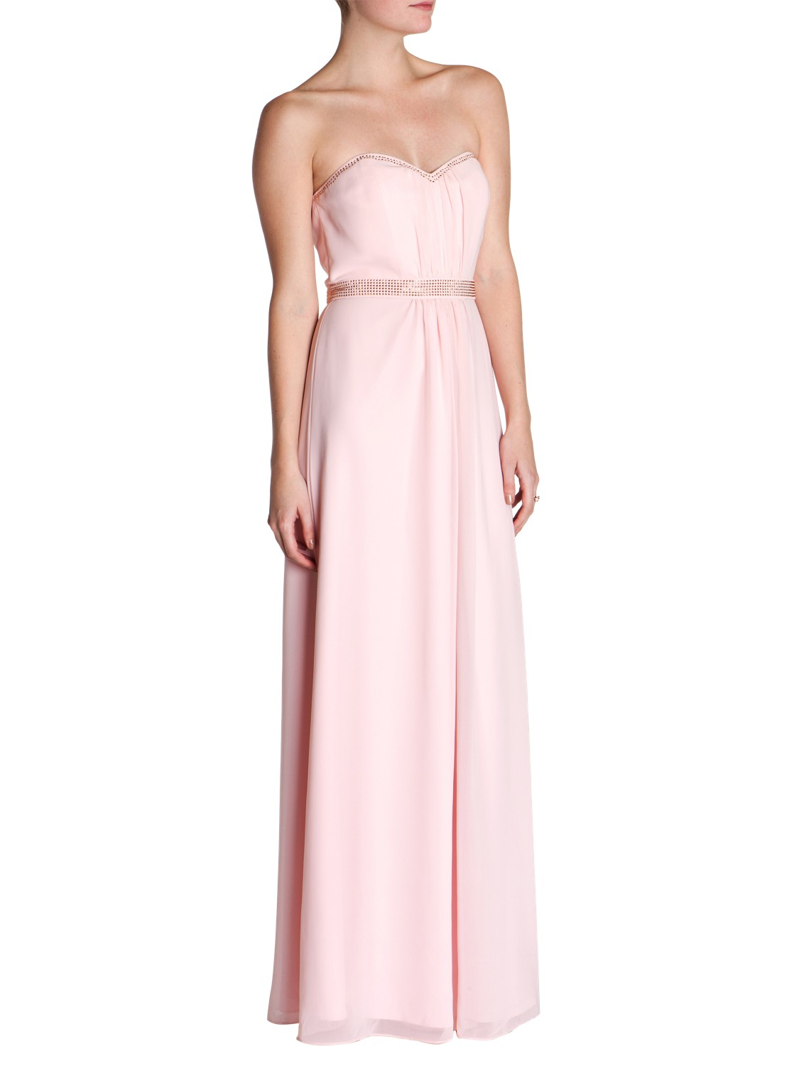 Ted Baker Foelee Stud Maxi Dress In Pink Lyst