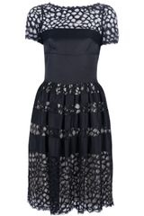 Temperley London Contrast Cutout Dress - Lyst