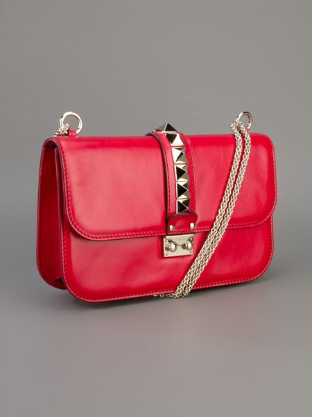 Red Valentino Studded Shoulder Bag 95