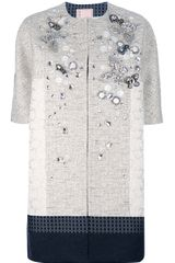Antonio Marras Jewel Embellished Coat - Lyst