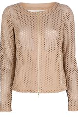 Drome Perforated Jacket - Lyst
