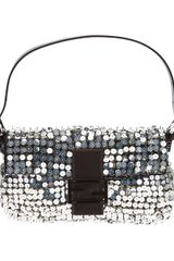 Fendi Sequin Baguette Bag - Lyst