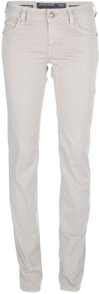 Jacob Cohen Straight Leg Trouser - Lyst