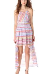 Madison Marcus Intoxicate Hi Lo Dress - Lyst