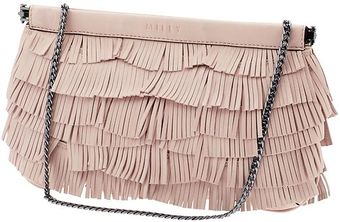 Milly Nikki Fringe Clutch - Lyst