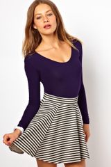 American Apparel Long Sleeve U-Neck Body - Lyst