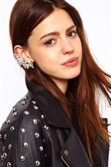 ASOS Collection Asos Triangle Ear Cuff - Lyst