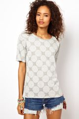 ASOS Collection Asos T-shirt with Reverse Spot - Lyst