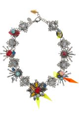 Erickson Beamon Nexus Swarovski Crystal Necklace