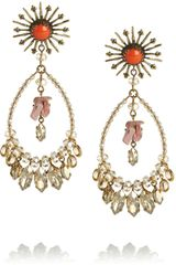Isabel Marant Swarovski Crystal Earrings