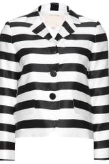 Marc Jacobs Striped Jacket - Lyst