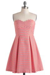 ModCloth Just Like Stroll Times Dress - Lyst
