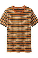 Uniqlo Men Striped Short Sleeve T-shirt  - Lyst
