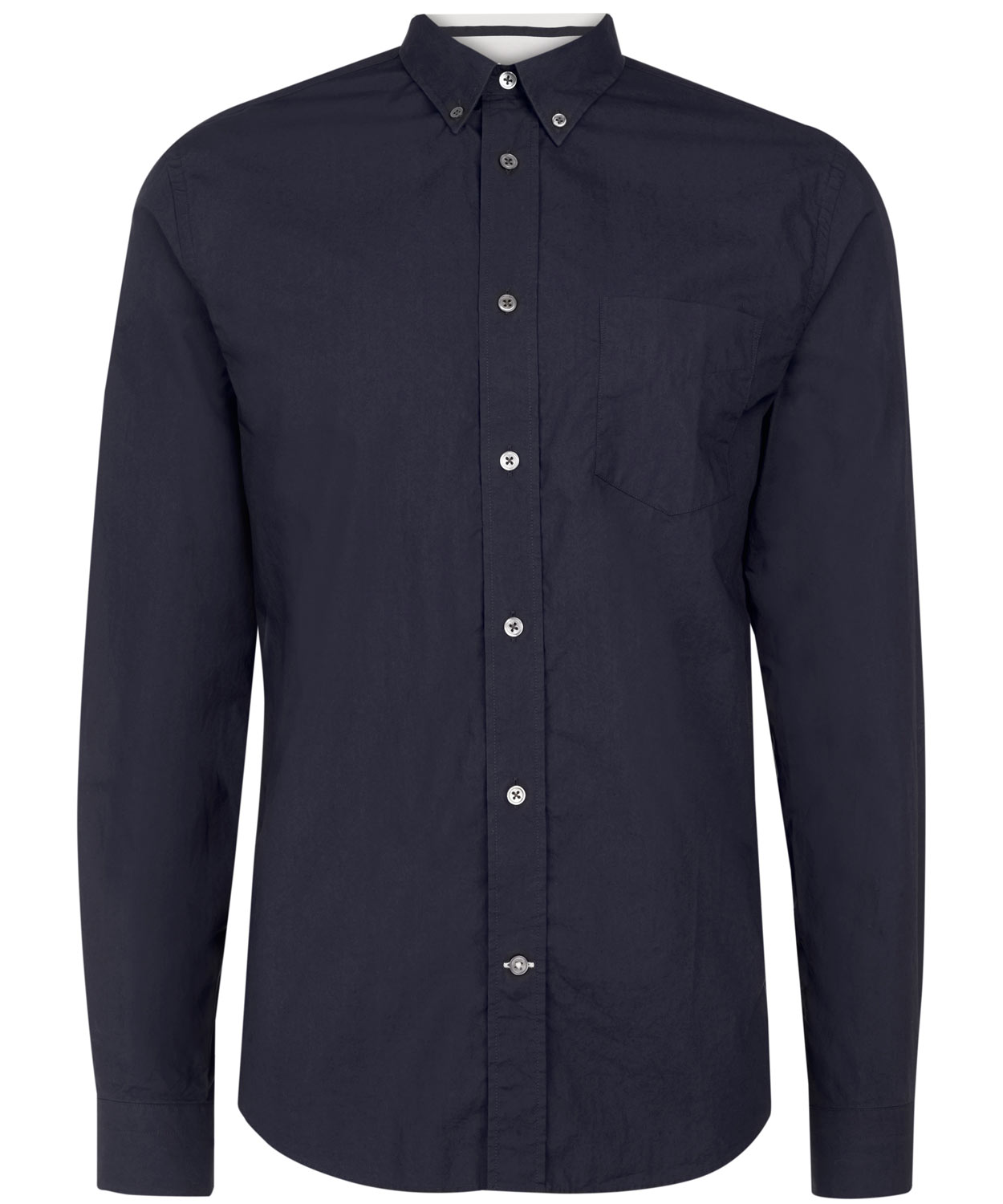 Lyst acne studios isherwood buttondown shirt in blue for men for Indigo button down shirt
