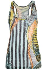 Balmain Printed Top - Lyst