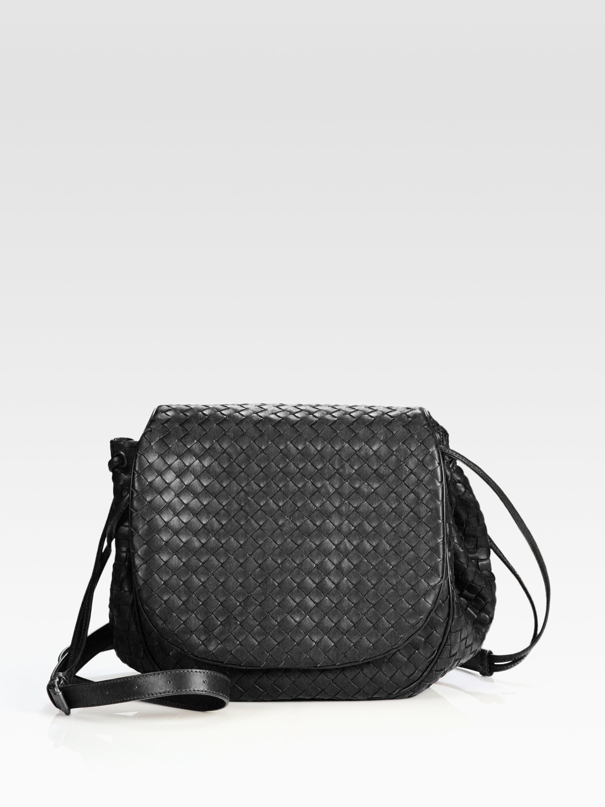 Intrecciato micro leather cross-body bag Bottega Veneta gNvpnpd