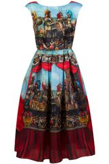 Dolce & Gabbana Soldier Print Dress