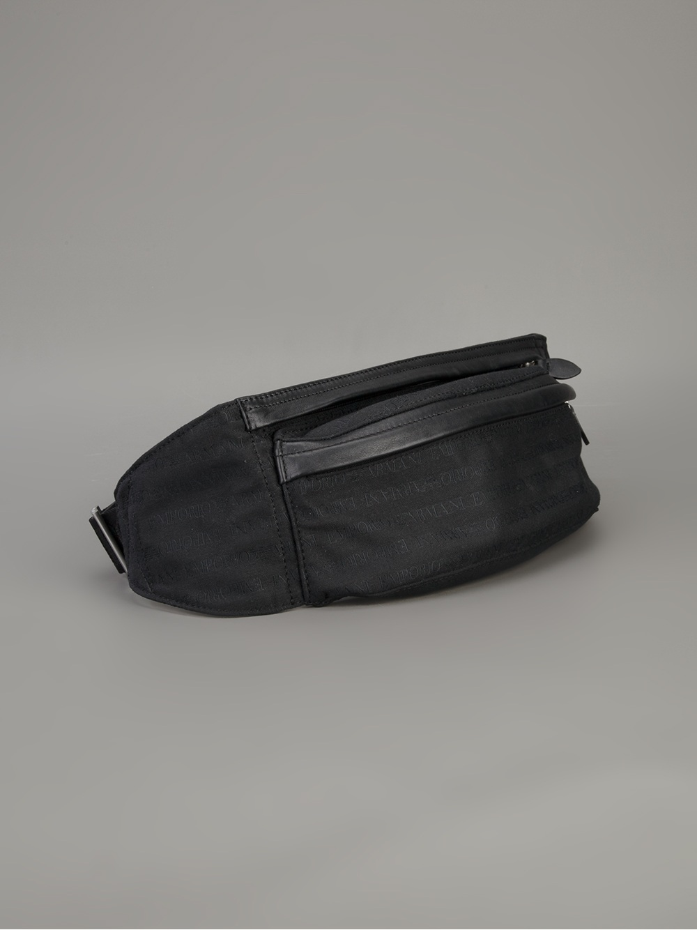 Emporio Armani Zip Pouch Bum Bag in Black for Men - Lyst e4b1c7499d757