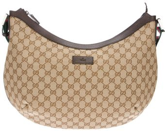 Gucci Logo Shoulder Bag - Lyst