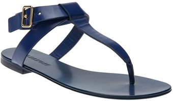Jil Sander Leather Sandal - Lyst