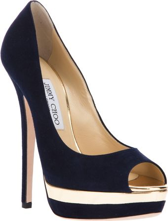 Jimmy Choo Treacle Pump - Lyst