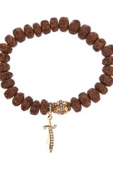 Loree Rodkin Beaded Bracelet - Lyst