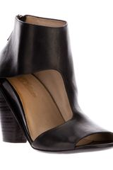 Marsell Cutout Ankle Boot - Lyst