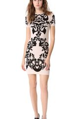 McQ by Alexander McQueen Jacquard Knit Dress - Lyst