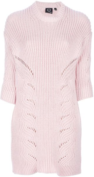 McQ by Alexander McQueen Jumper Dress - Lyst