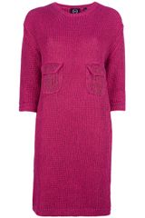 McQ by Alexander McQueen Knitted Dress - Lyst