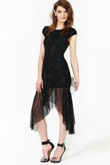 Nasty Gal Night Sky Dress - Lyst