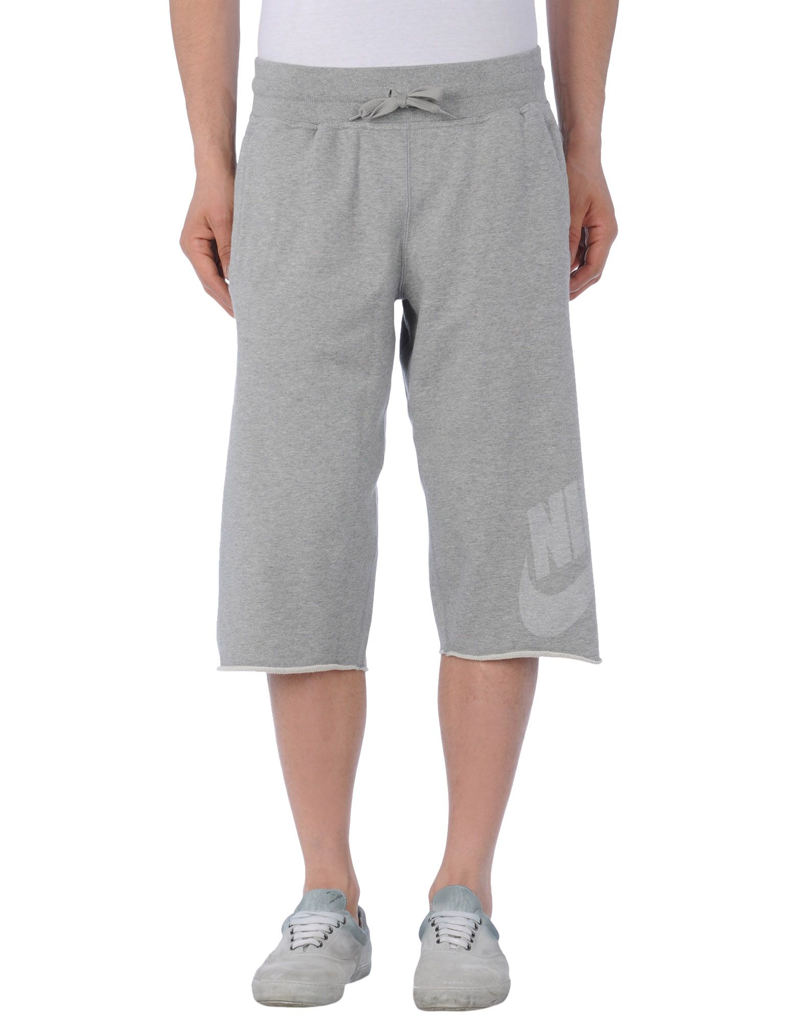 nike sweat pants in gray for men light grey lyst. Black Bedroom Furniture Sets. Home Design Ideas