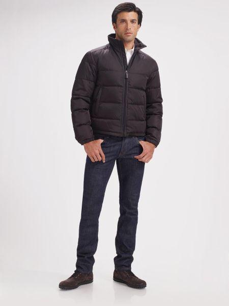 Prada Down Jacket Prada Nylon Puffer Jacket