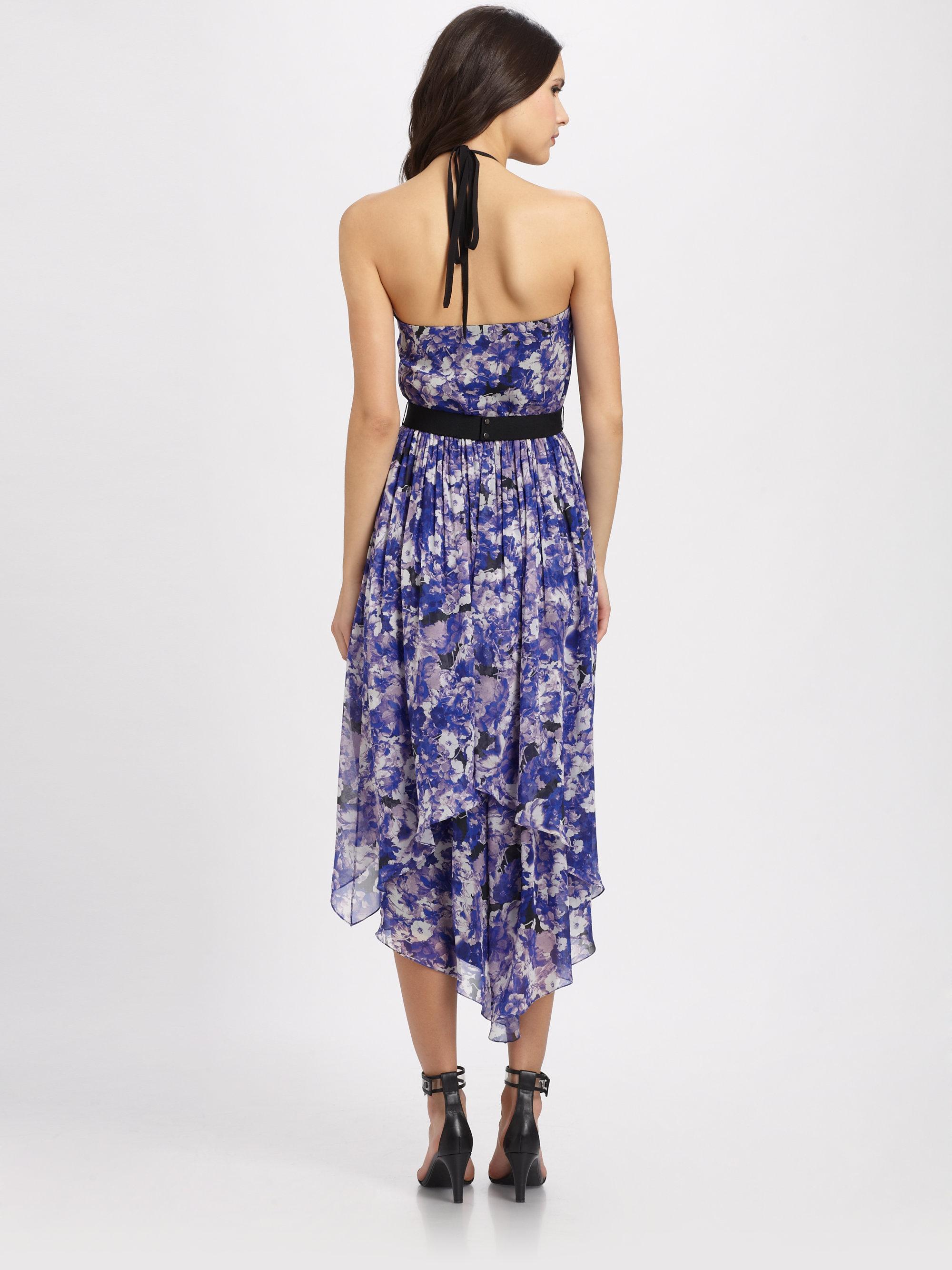 Robert Rodriguez Floral Print Hilo Dress Lyst