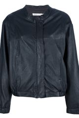 See By Chloé Leather Jacket - Lyst