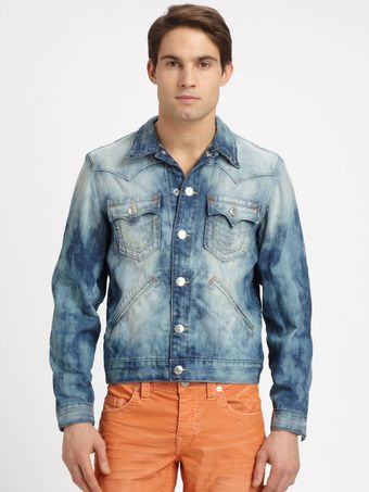 True Religion Johnny Western Jacket - Lyst