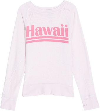 Wildfox Hawaii Beach Sweater - Lyst
