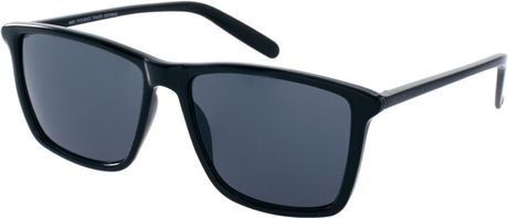 Cheap Monday Mars Wayfarer Sunglasses in Black for Men | Lyst