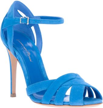 Gianvito Rossi Strappy Sandals - Lyst