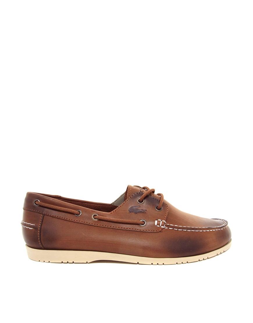 Lacoste Black Boat Shoes