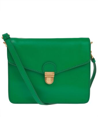 Marc By Marc Jacobs Green Cricket Leather Crossbody Bag - Lyst