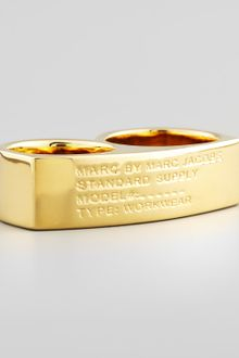 Marc By Marc Jacobs Standard Supply Double Ring - Lyst