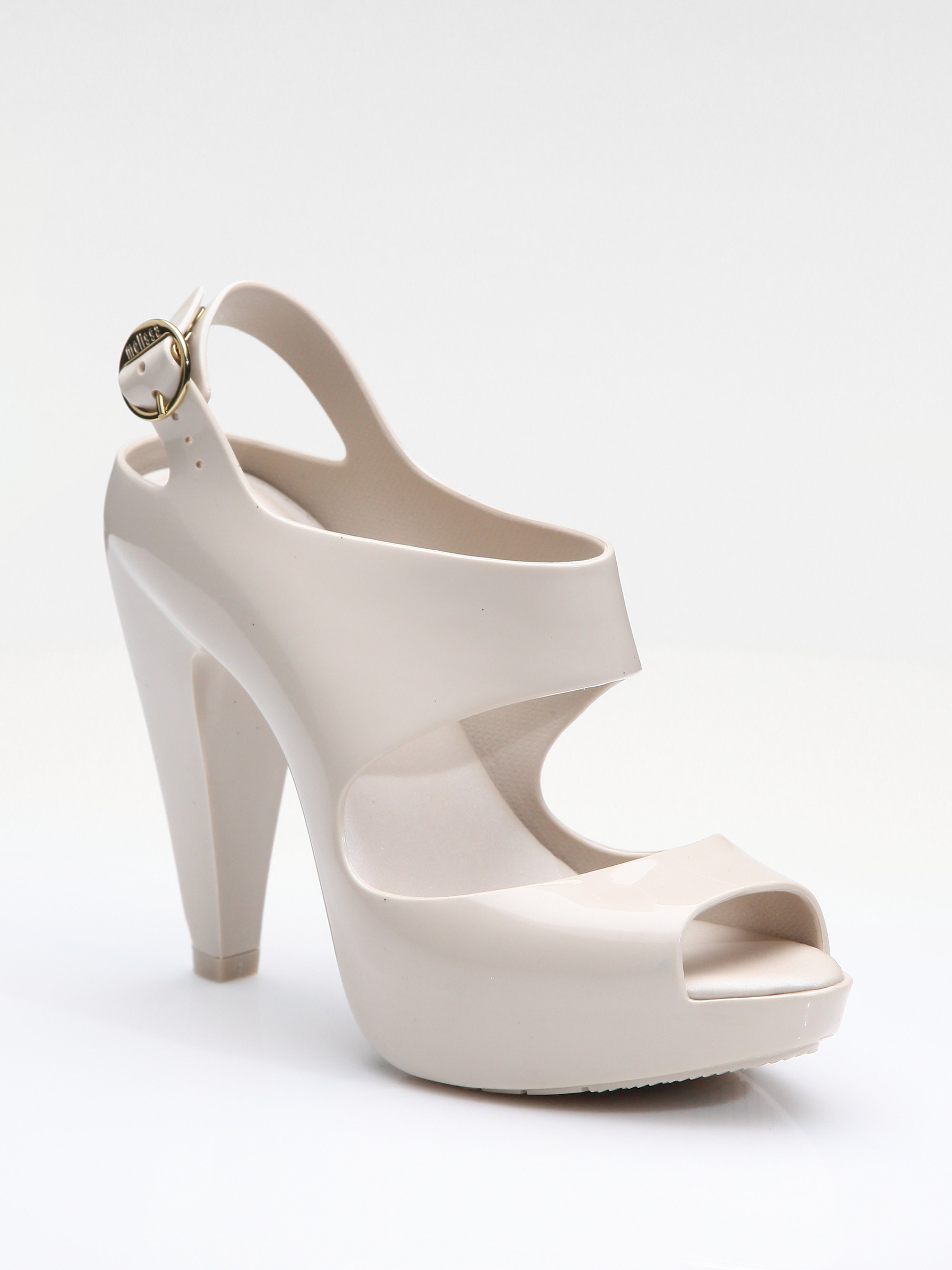 Lyst Melissa Amazonas Rubber Platform Sandals In White